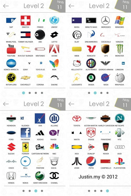 100 Pics Logos Level 61-70 Answers | 100 Pics Answers