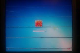 Problème lors du démarrage blue screen bande noir forum windows