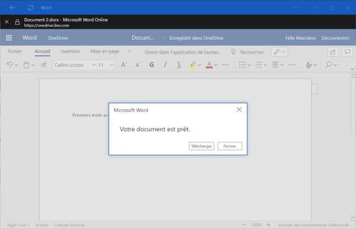 Utiliser gratuitement microsoft office avec windows 10 ou - Office 365 comment ca marche ...