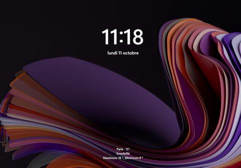 Écran de verrouillage Windows 11: comment le personnaliser