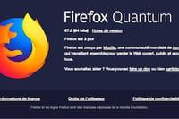 Firefox 67 : plus sûr et beaucoup plus rapide