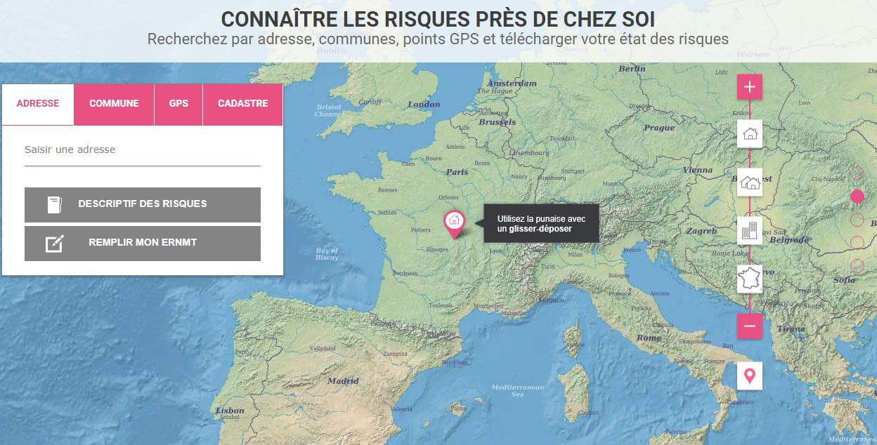 carte des zones inondables par commune Une carte pour vérifier les zones inondables   Comment Ça Marche