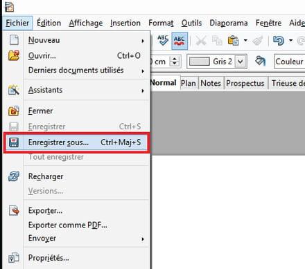 ouvrir un document pdf avec open office