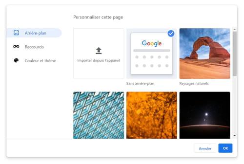 Personnaliser l'apparence de Chrome avec des fonctions cachées PRAT05