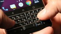 Grand retour du clavier sur Blackberry
