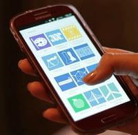 Apps mobiles téléchargées par une minorité