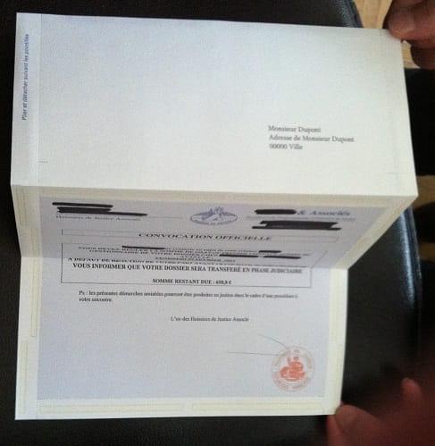 Fabuleux Preuve du contenu d'un courrier [Résolu] EI82