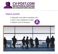 CV-Post.com : un nouvel outil de gestion des candidatures