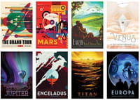 « Visions of the Future » : des posters exclusifs de la NASA à télécharger