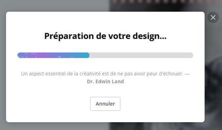 Design en préparation