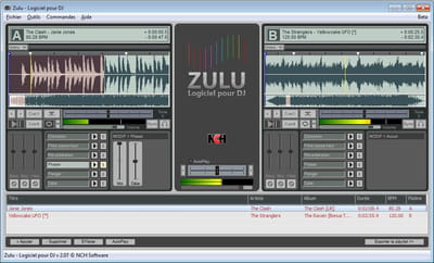 table de mixage zulu