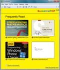 Lecteur pdf portable
