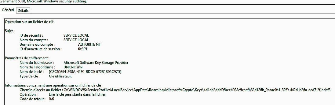 cryptage de fichier - photo impossible  u00e0 lire