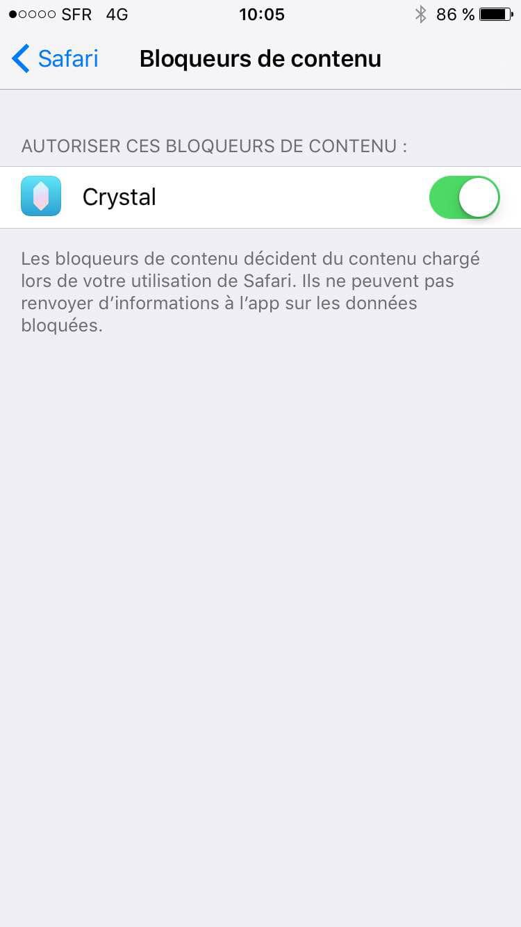 ios 9 - activer adblock sur safari (iphone / ipad)