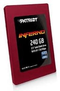 Patriot lance une nouvelle gamme de disques SSD Inferno
