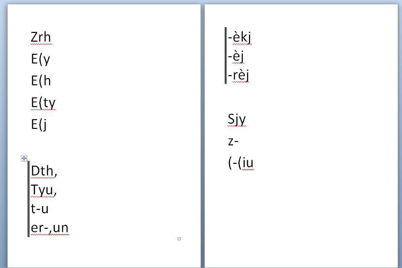 Microsoft word probl me avec un tableau coup en deux pages - Couper une image sur word ...