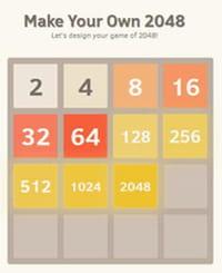 Créez votre propre version du jeu 2048