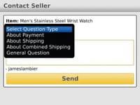 L'application eBay est officiellement disponible sur BlackBerry