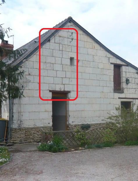 Fissure en fa ade murs en tuffeau - Comment couper du plexiglas ...