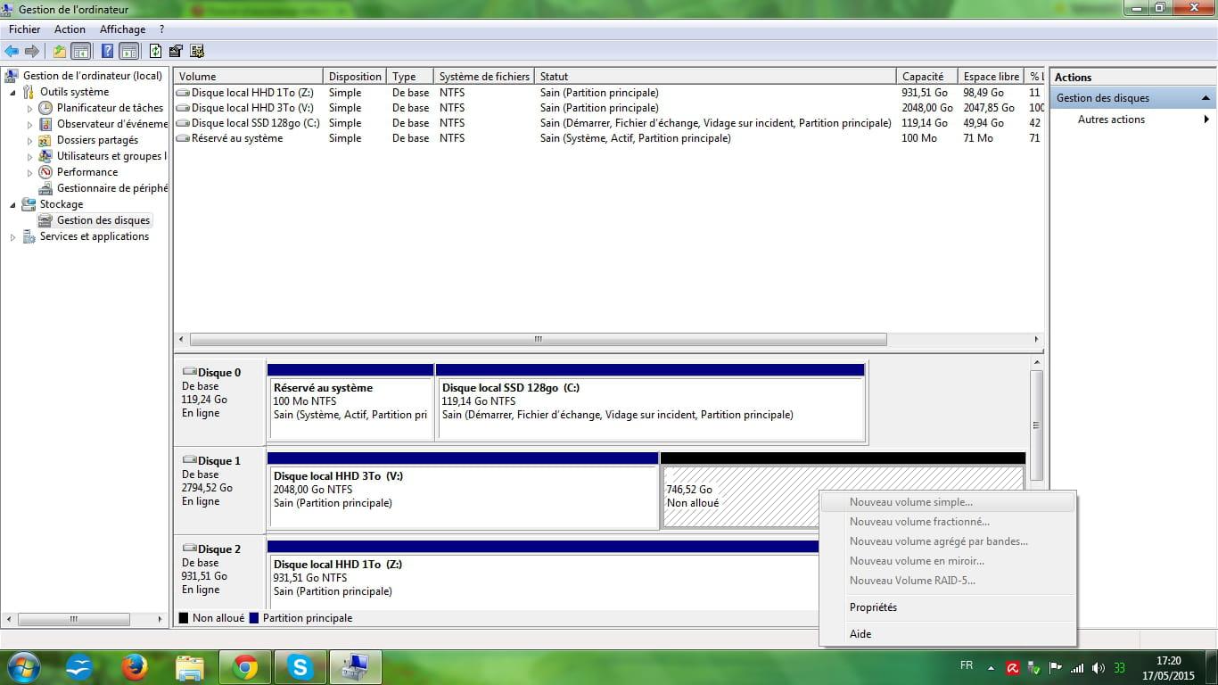 partition inaccessible sur disque dur interne neuf r solu forum mat riel informatique. Black Bedroom Furniture Sets. Home Design Ideas