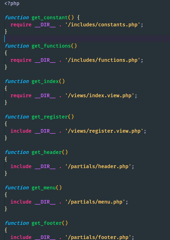 php fonction