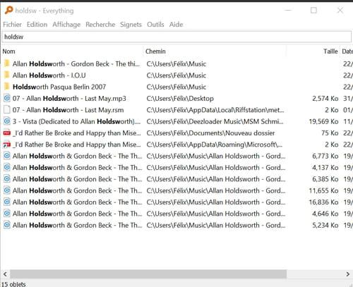 Faire des recherches rapides de fichiers sous Windows grâce à Everything EVR-4