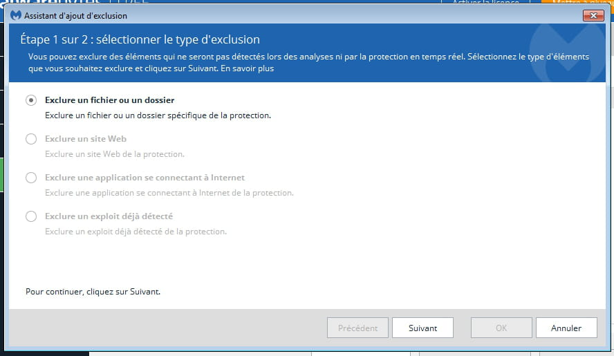 malwarebytes pour xp