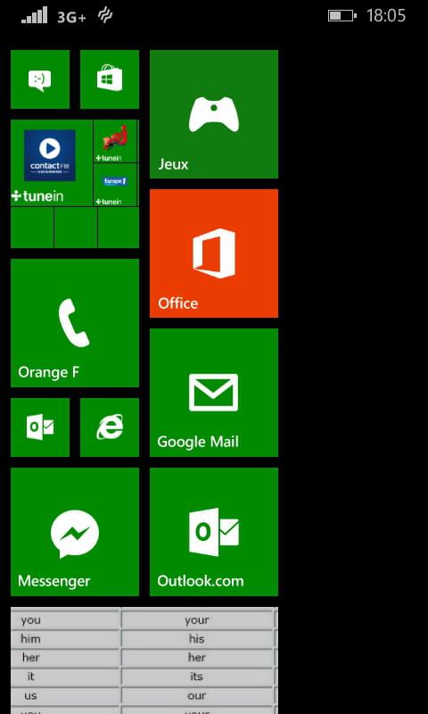 Windows phone 8 1 afficher plus de vignettes comment - Office 365 comment ca marche ...
