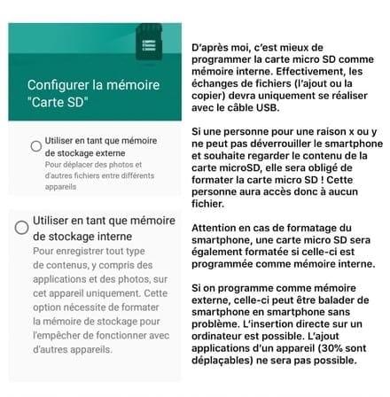 impossible de deplacer application sur carte sd Déplacer applications vers SD sur HONOR 7S   Comment Ça Marche