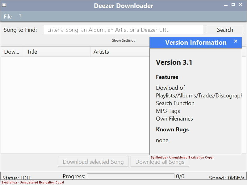 DEEZER TÉLÉCHARGER DOWNLOADHELPER MP3