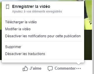 Télécharger une vidéo depuis Facebook CM_astuce_-_enregistrer_video_profil