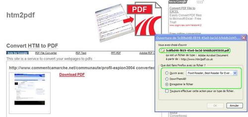 convertir un fichier pdf en word sans logiciel