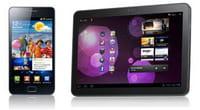 Samsung Galaxy S2 et Galaxy Tab 10 : premières impressions