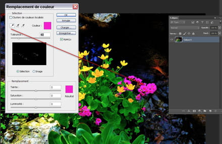 remplacer une couleur par une autre resolu With couleur pour un couloir 9 remplacer une couleur par une autre avec photoshop