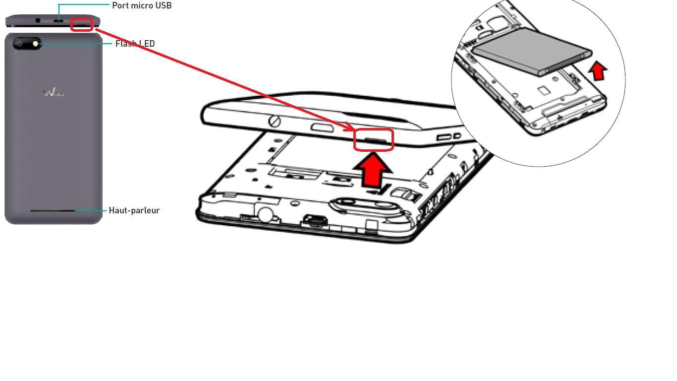 Ouverture du capot arrière d'un Wiko lenny 3 [Résolu] - Comment Ça ...