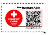 UrgentCode, le QR code à utiliser en cas d'urgence