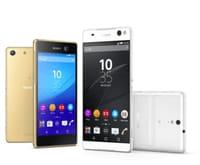 Avec les Xperia C5 Ultra et Xperia M5, Sony étoffe sa gamme de smartphones