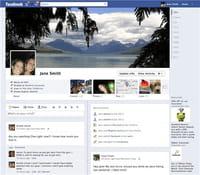 Facebook : coup d'oeil sur la nouvelle interface Timeline