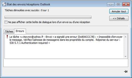 Comment puis-je brancher Yahoo email à Outlook Branchement du récepteur Integra