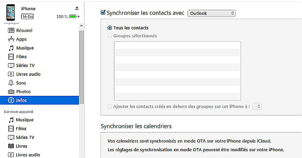 Synchronisation Calendrier Outlook.Comment Synchroniser Les Contacts Les Calendriers Et Les