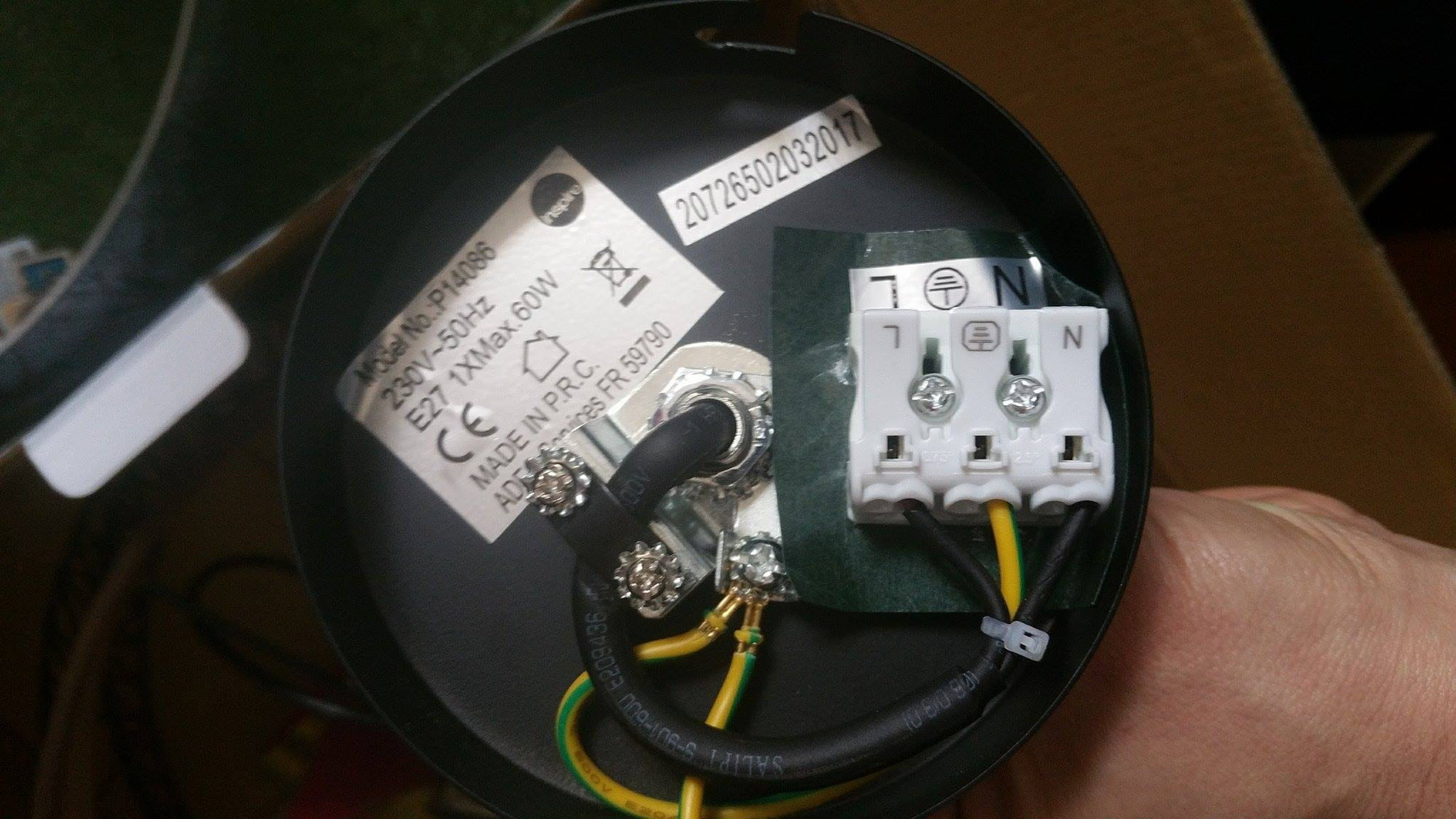 Cordon Electrique Pour Lampe réduire fil de suspension - linternaute