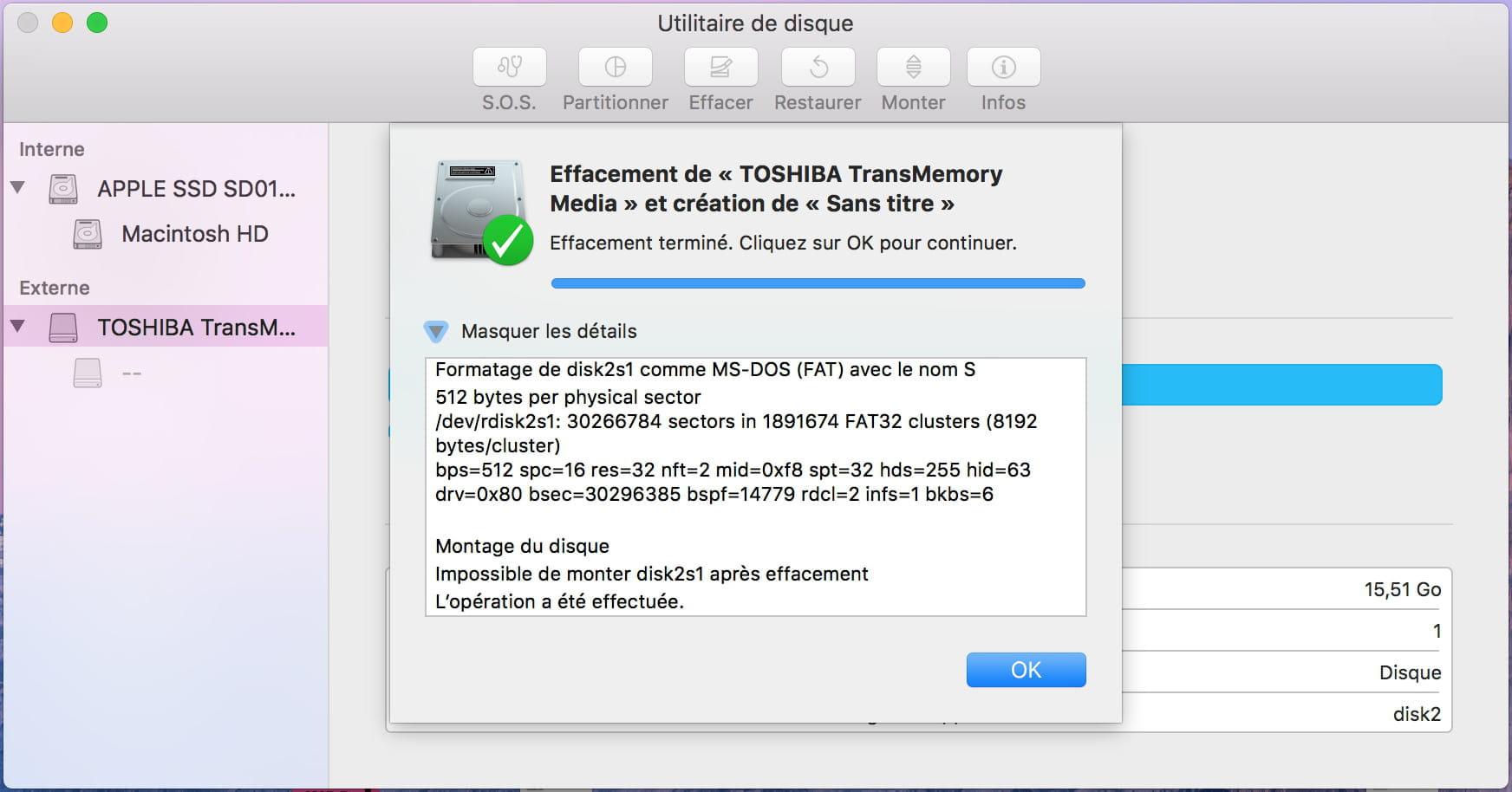 LOGICIEL POUR CLÉ TÉLÉCHARGER USB TOSHIBA FORMATER