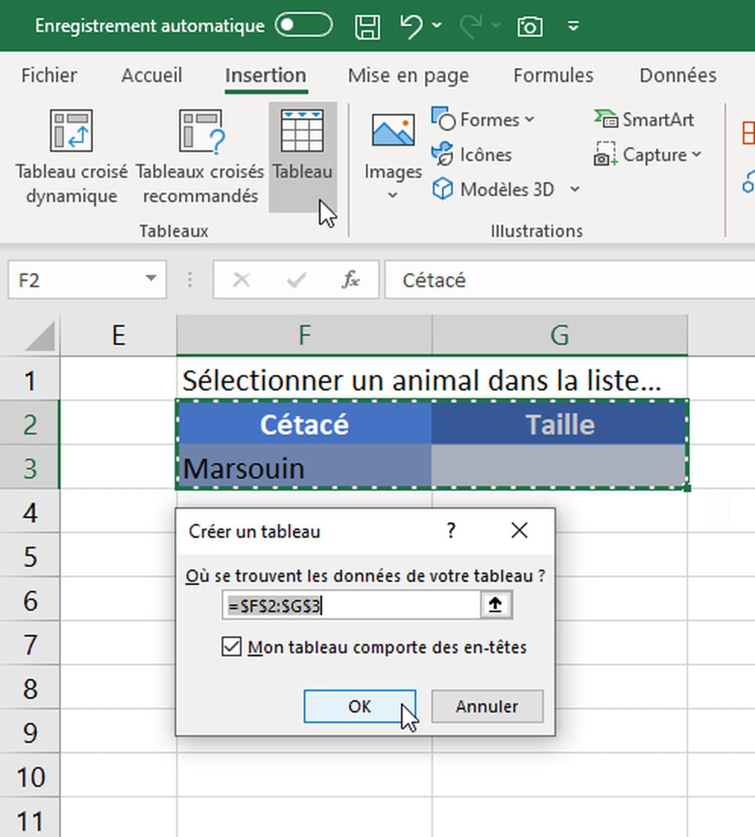 Creer Des Listes Deroulantes Dans Excel