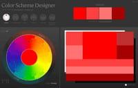Créer des harmonies de couleurs avec Color Scheme Designer