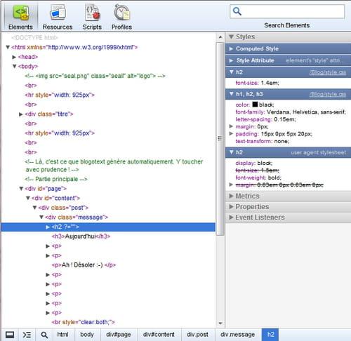 Une Vrai Mine Dor Dinformation Sur La Source Le CSS HTML Etc