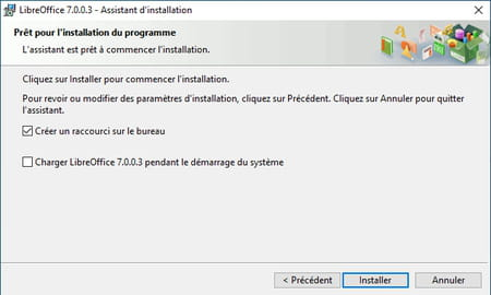 Installation de LibreOffice