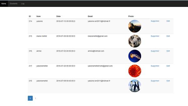 sample source code for java web application