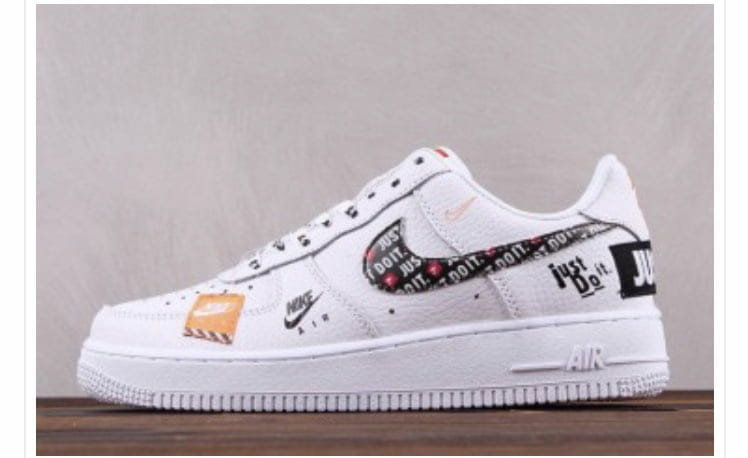 Ou trouvez des Nike air force one low just do it sur un site