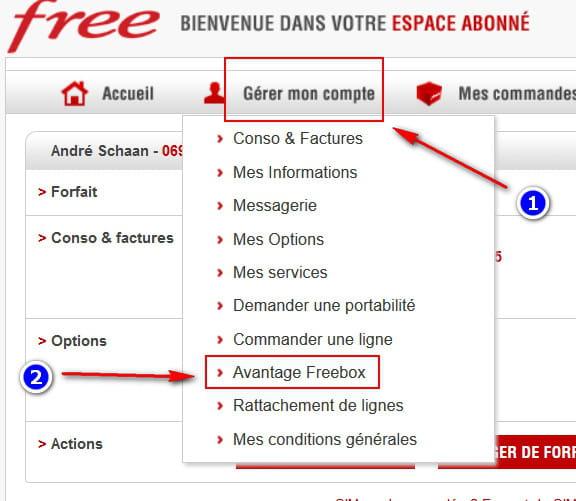 comment obtenir forfait free 0 euros