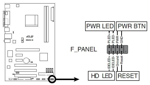 alimentation pc sb power clignote. Black Bedroom Furniture Sets. Home Design Ideas